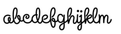 Steinweiss Script Bold Font LOWERCASE
