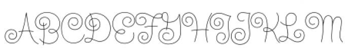 Steinweiss Script Light Font UPPERCASE