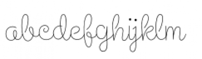 Steinweiss Script Light Font LOWERCASE