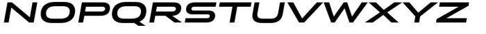 Stereo Gothic 750I Font UPPERCASE