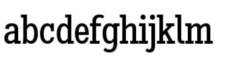 Stint Pro Condensed Font LOWERCASE