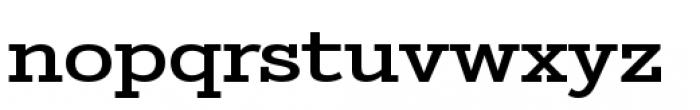 Stint Pro Expanded Medium Font LOWERCASE