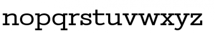 Stint Pro Expanded Font LOWERCASE