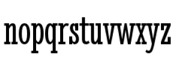Stint Pro Ultra Condensed Book Font LOWERCASE