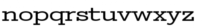 Stint Pro Ultra Expanded Font LOWERCASE