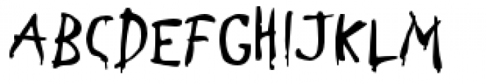 Stupid Cow Font LOWERCASE