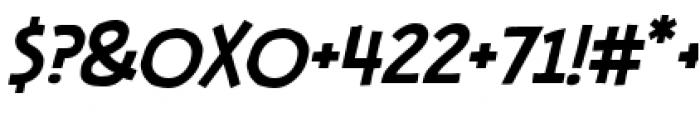 Stupid Head BB Light Italic Font OTHER CHARS