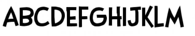 Stupid Head BB Light Font UPPERCASE