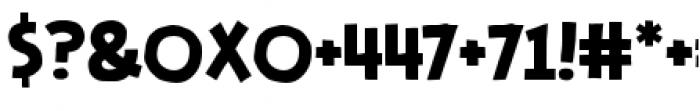 Stupid Head BB Regular Font OTHER CHARS