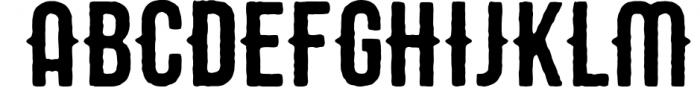 STOUT Typeface 1 Font UPPERCASE