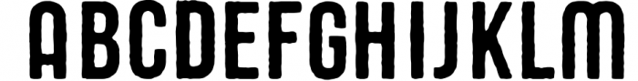 STOUT Typeface 1 Font LOWERCASE