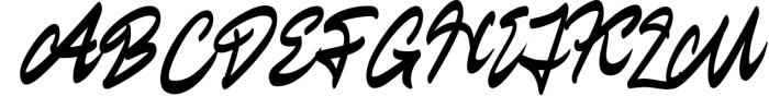 Staryl | Handwritten Script Font Font UPPERCASE
