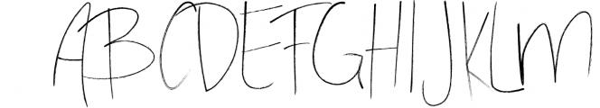 Stay Late - A Handwritten Font Font UPPERCASE