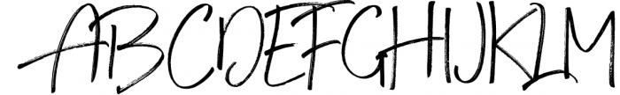 Steadfast Script 1 Font UPPERCASE