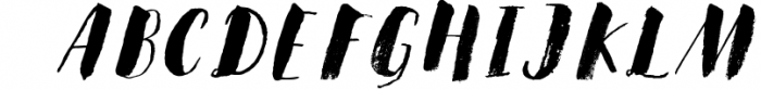 Steady Bonanza Multistyle Fonts 4 Font UPPERCASE