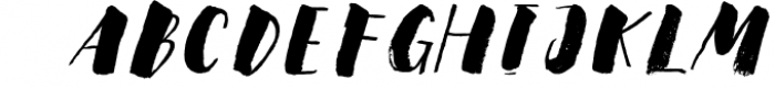 Steady Bonanza Multistyle Fonts 4 Font LOWERCASE