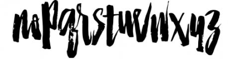 Strenght Script Brush 1 Font LOWERCASE