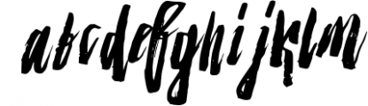 Strenght Script Brush 2 Font LOWERCASE