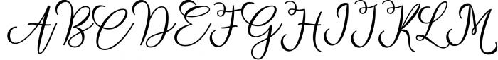 Strongman Script Font UPPERCASE