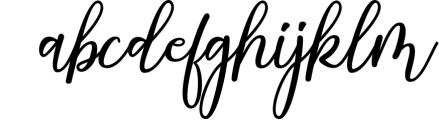 Strongman Script Font LOWERCASE