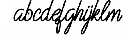 Struggle More - Script & Sans Font 1 Font LOWERCASE