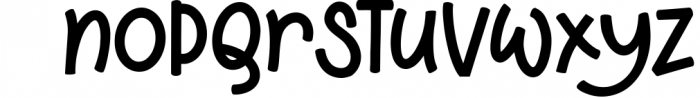 Stuffed Cannelloni - a deliciously fun font! Font LOWERCASE