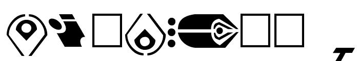 ST Canon based Ferengi 1L Font OTHER CHARS