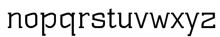 ST Substance Font LOWERCASE