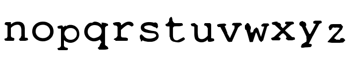 STALKER2 Font LOWERCASE