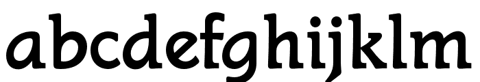 STALlionOpti Font LOWERCASE