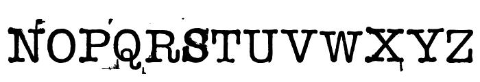 STAMPWRITER-KIT Font UPPERCASE