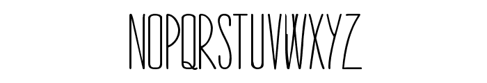 STARGAZER-demo Font LOWERCASE