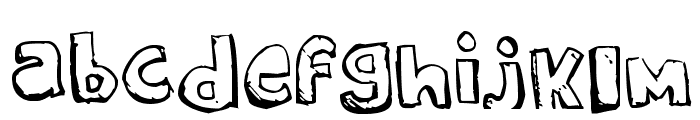 STARGUIDES Font LOWERCASE