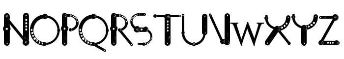 STEEL_NM_OTF Font LOWERCASE