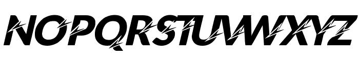 STING Font UPPERCASE