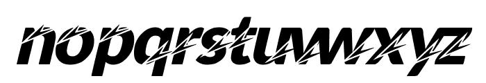 STING Font LOWERCASE