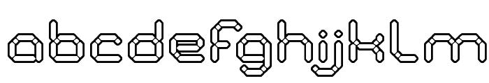 STONE ROCK Font LOWERCASE