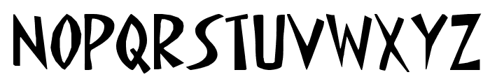 STOP SHARK FINNING Font LOWERCASE