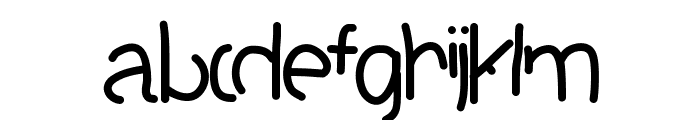 STOPplease Font LOWERCASE