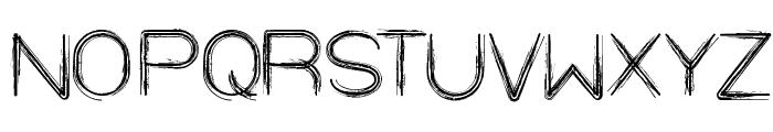 STRAW HAT Font UPPERCASE