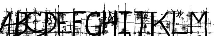 STREET@GOTHIC Font UPPERCASE