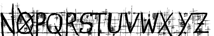 STREET@GOTHIC Font LOWERCASE