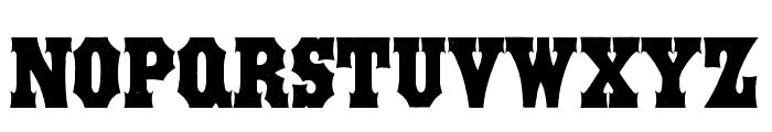 STRONGBOX-Bold Font LOWERCASE