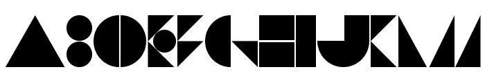 St Bookashade Font UPPERCASE