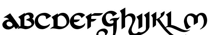 St Charles Dark Font UPPERCASE