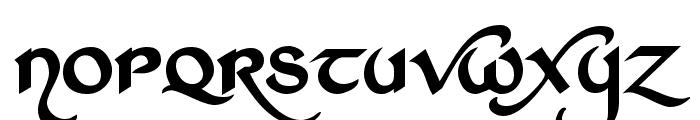 St Charles Dark Font LOWERCASE