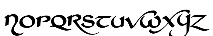 St Charles Extra Dark Font UPPERCASE