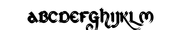 St Charles Ornate Font LOWERCASE