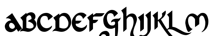 St Charles Font UPPERCASE