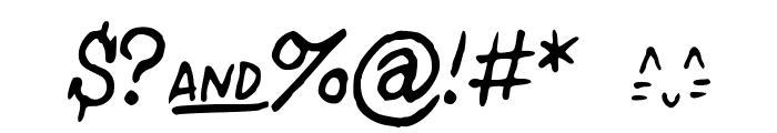 StPauls-Medium Font OTHER CHARS